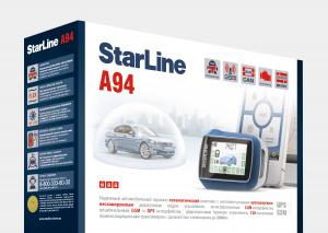 StarLine A94 GSM установить в Зеленограде с гарантией